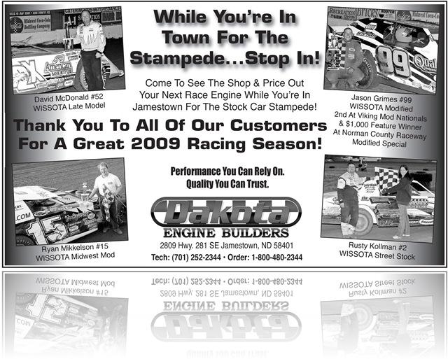 Wissota Racing Engines – Dakota Engine Builders