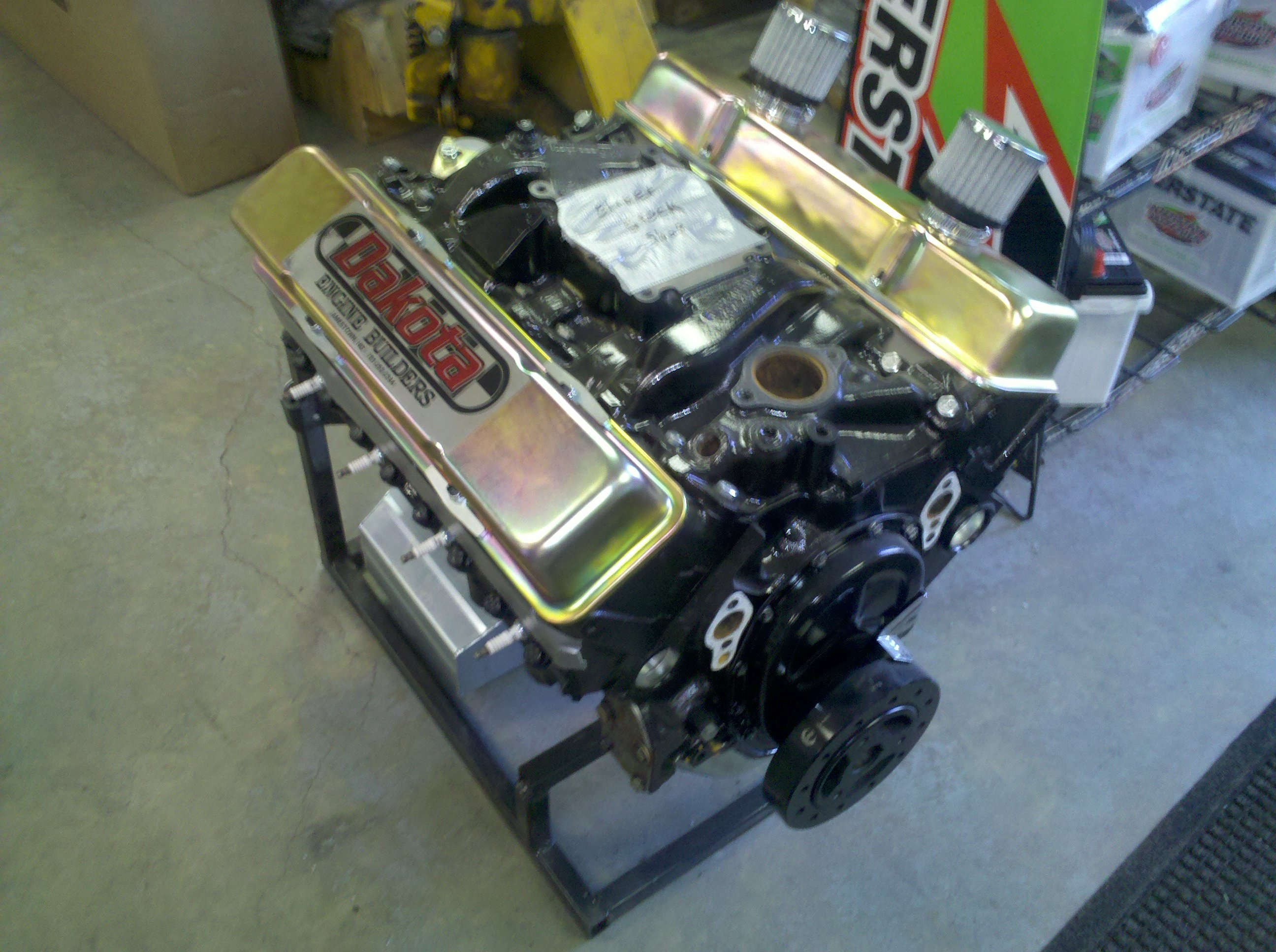 Wissota Street Stock Racing Engine