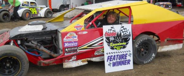 Hall wins @ Thunder Mountain Speedway